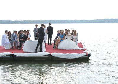 Sturm der Liebe - schwimmende Hochzeit