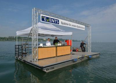 TS-Events-Spätzletaxi. Schwimmende Küche.